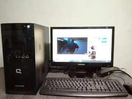 Computador completo Compaq 100 series