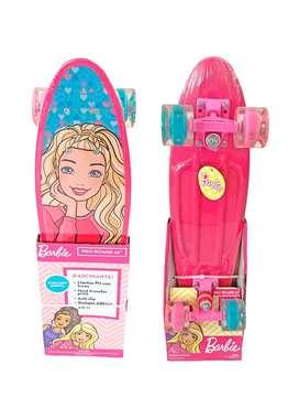 Skate De Aluminio Con Luces Barbie PB-18 Electrodomesticos Jared