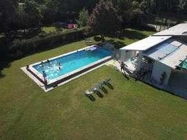 Alquiler temporario de casa quinta con piscina y gran parque