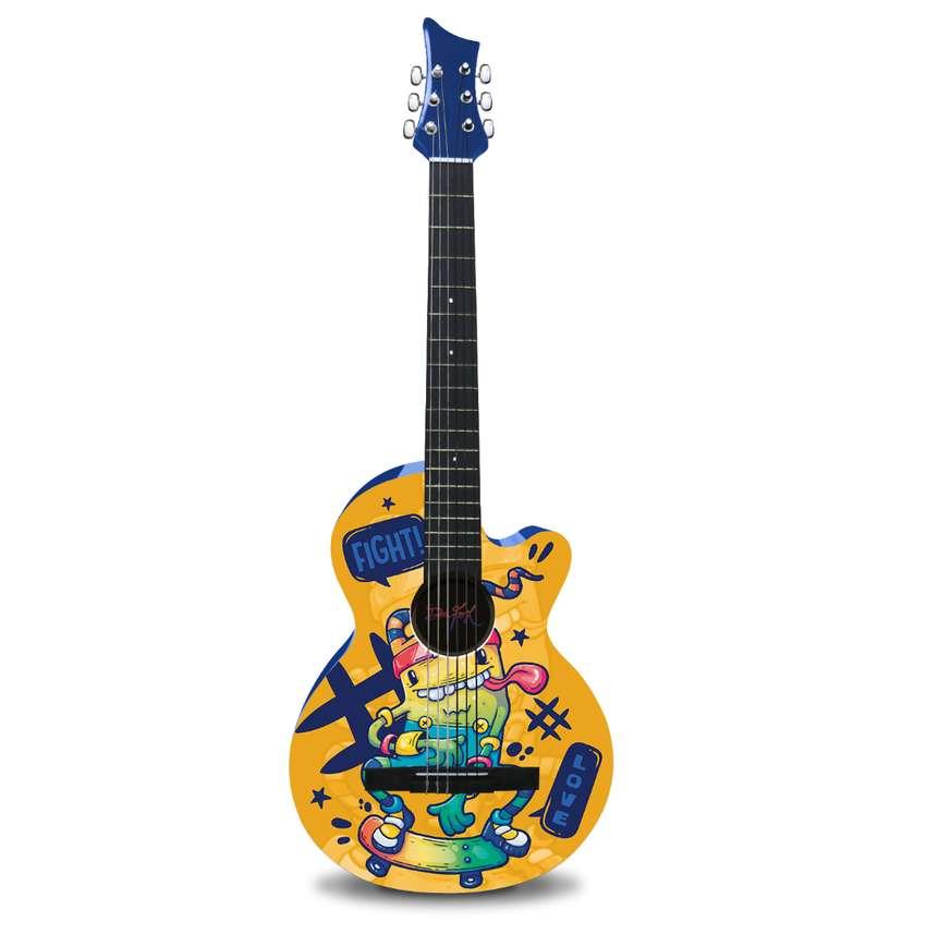 Guitarra Acústica Fight Love  Dr. Fox. 0
