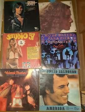 Discos de vinilo lote de 39 discos..la plata