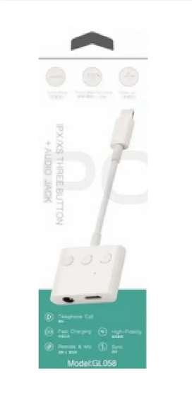 adaptador lightning a 3.5 mm