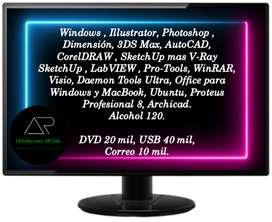 Mantenimiento windo offic Software para computadores envió gratis