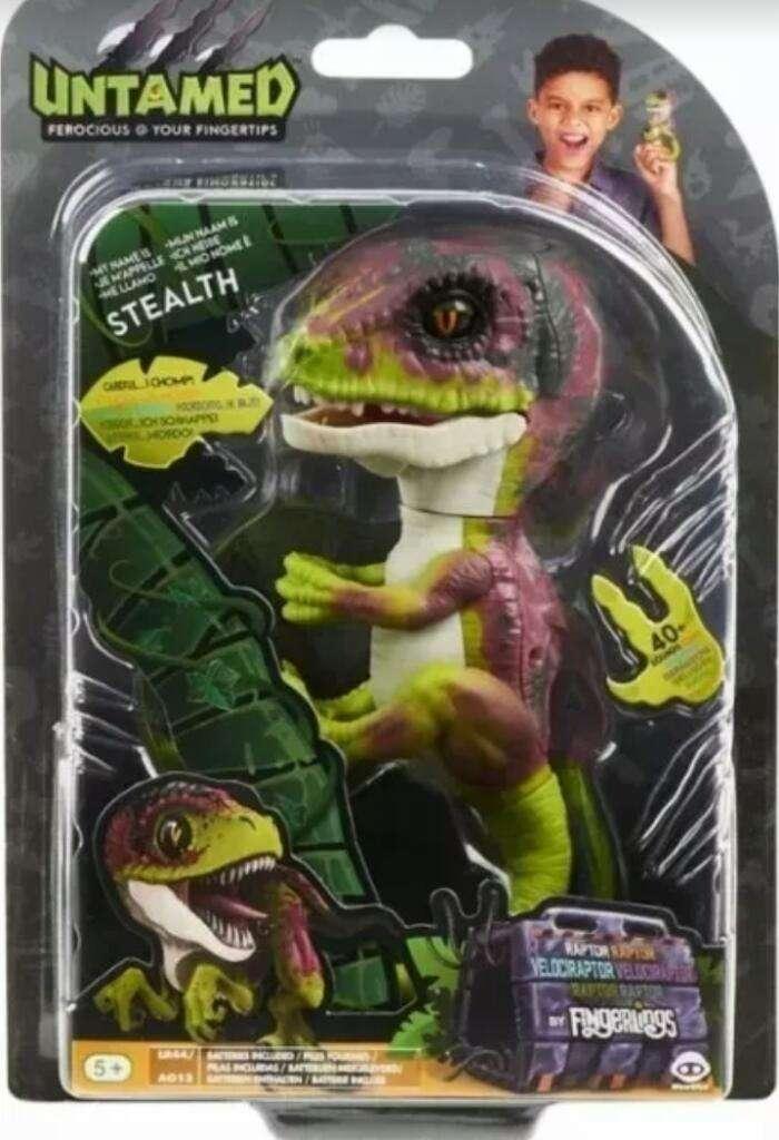 Dinosaurio Fingerlings 0