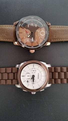 Reloj FOSSIL y MONTBLAC 9/10