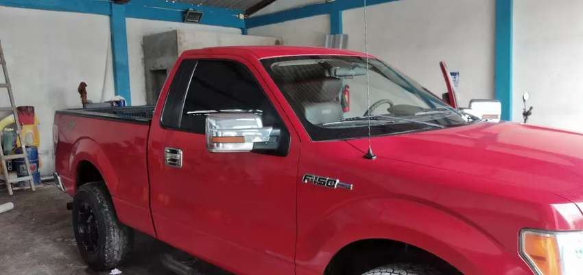 Ford 150 color rojo 0