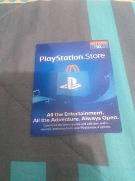 Vendo tarjetas de Play Station Store