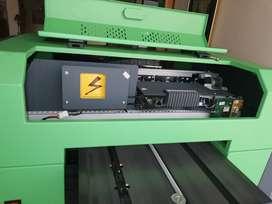 impresora de inyección de tinta digital de cama