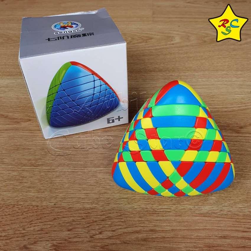 Mastermorphix 7x7 Cubo Rubik Heptaphobic Shengshou Piramide 0