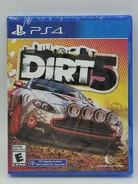 Dirt 5 nuevo sellado Playstation 4