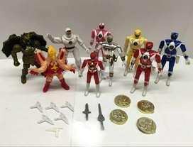 Lote Power Rangers 1993, heman, star wars  transformers, marvel, thundercats,  gia joe, he man, Mazinger , cazafantasmas