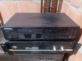 Compact Disc Player Pioneer Pd 204