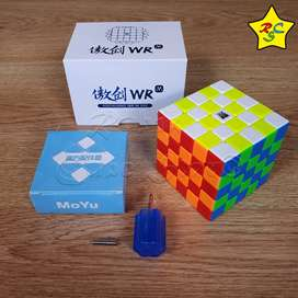Cubo Aochuang 5x5 Wr M World Record Magnetico Stickerless