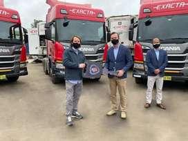 Volquetes Volvo Scania Howo