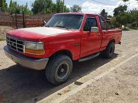 Vendo Ford f100 modelo 97 nafta/gnc motor 4.9 americana soy titular lista para transferir.