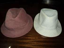 2 sombreros 1 de COMPLOT