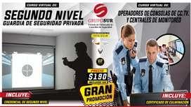 Segundo Nivel GUARDIA DE SEGURIDAD PRIVADA