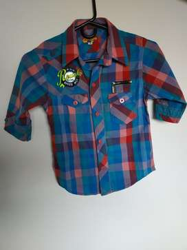 Camisa para Niño Talla 10