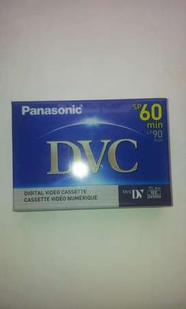 Cinta De Vídeo Digital Cassette Panasonic Dvc sp 60 min