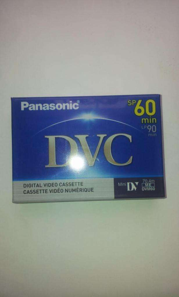Cinta De Vídeo Digital Cassette Panasonic Dvc sp 60 min 0