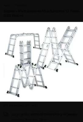 Vendo escalera de aluminio multifuncional