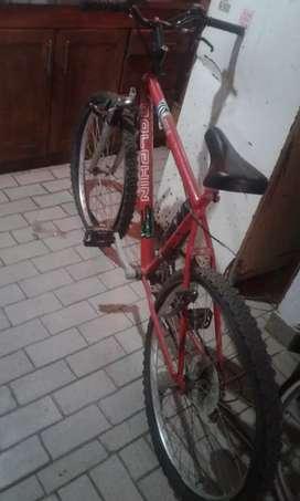 Muy buena bicicleta ideal para usar ya