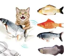Juguete pescado electrónico con movimiento