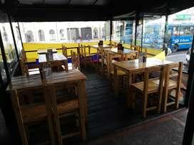 Se vende restaurante & bar calle 72 a una cuadra de la av caracas precio negociable