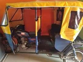 Vendo mototaxi rtm, operativa, papeles a tramitar