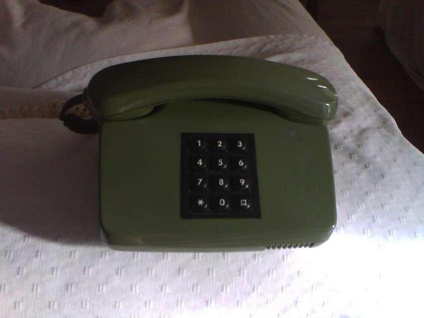 Telefono entel retro verde 250 0