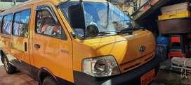 Vendo furgoneta  kia pregio 2008  con derechos y acciones