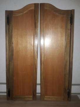 Puerta de Va Y Ven en Madera