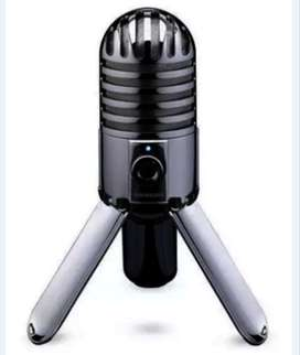 Micrófono Condensador Para Estudio Samson Meteor Original