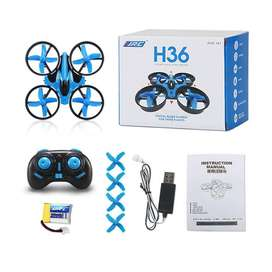 MINI DRONE JJRC H36 PROTECCION TOTAL CONTRA GOLPES! GIROS 360! REGERSO A CASA! BY DRONE BUCARAMANGA!