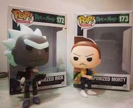 Muñecos Rick and Morty
