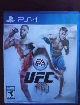 Vendo UFC ps4