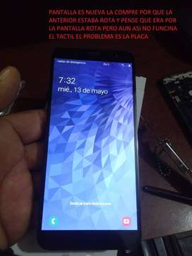 Samsung J6 repuestos CON DETALLE DE PLACA DE VIDEO