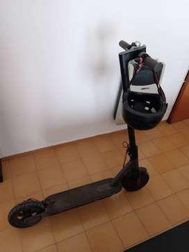 monopatín electrico foston s08 pro, regalo casco