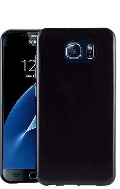 funda TPU termoplastico Negra Samsung S7 Flap