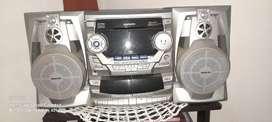 Equipo de sonido daewoo
