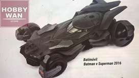 Batimovil Batman vs Superman escala 1/24 Jada Toys Peru 21 Sellado