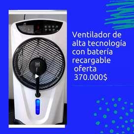 Ventilador de alta tecnología