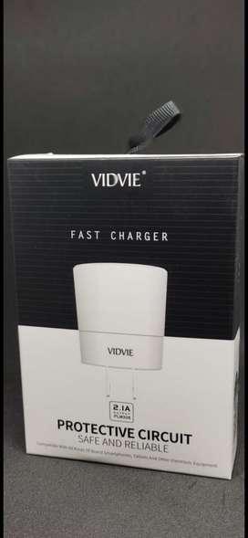 Cargador Vidvie PLM308 Iphone y Tipo C