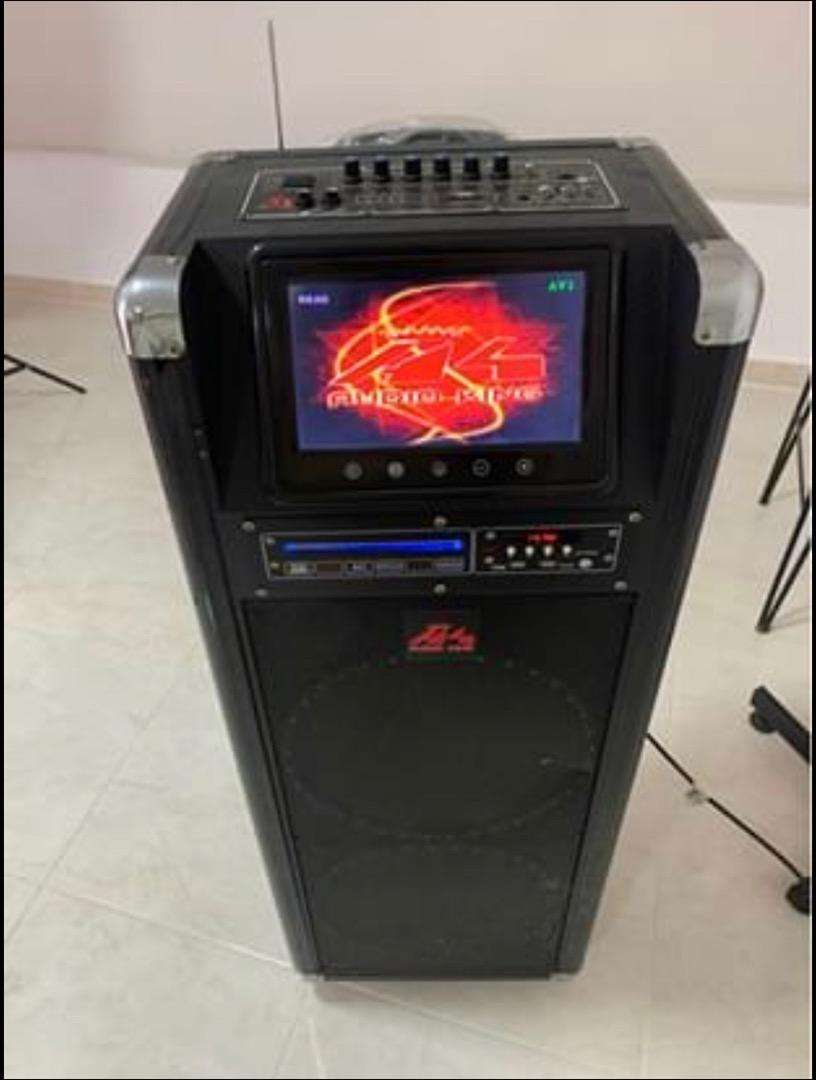 Bafle portatil con reproductor de dvd 0