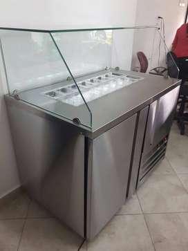 Barra Refrigera Topping en Acero