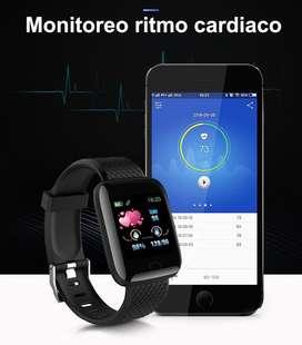 Reloj inteligente Medición de la presión arterial entre otras funciones envio gratis