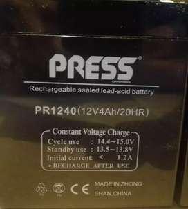 Batería PRESS -12V-4Ah - por unidad