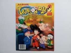 Álbum LLENO Dragon ball 2 de 1997. Navarrete NO taps hitazo Panini.
