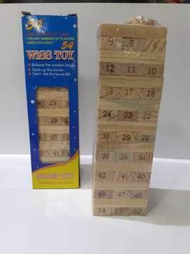 jenga de madera