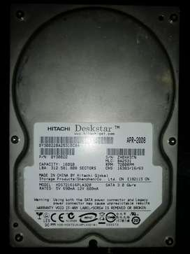 Vendo disco duro de 160 GB